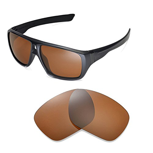 Walleva Replacement Lenses for Oakley Dispatch Sunglasses -Multiple Options Available (Brown - - Polarized Z87 Sunglasses