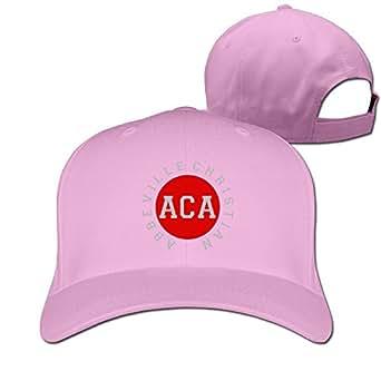 CHEDUCEA ACA Abbeville Christian Academy Baseball Cap Pink