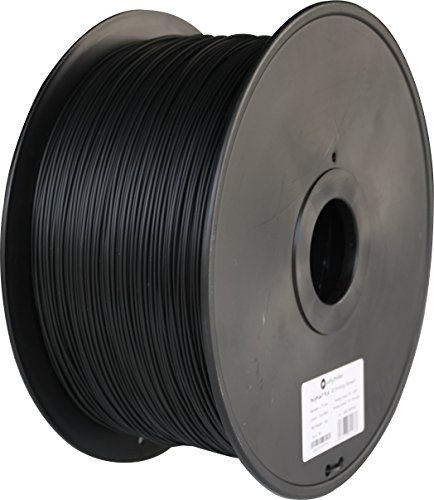 Polymaker PC-Max 3D Printer Filament, PC Filament(Polycarbonate), True Black, 2.85 mm 3 Kg, 110C Heat Resistant, Easy to Print, Harder and Stronger than Regular PC by Polymaker