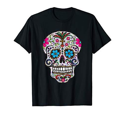 (cinco de mayo shirt sugar skulls tshirt day dead dia muertos)