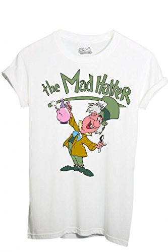 T-SHIRT ALICE THE MAD HATTER-CARTOON by MUSH Dress Your Style