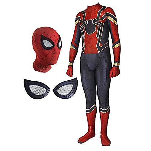 Spider-Man: Far from Home Iron Man Superhero Spiderman Hoodie Comics Hero Hood Costume Cosplay for Kids & Adult ()