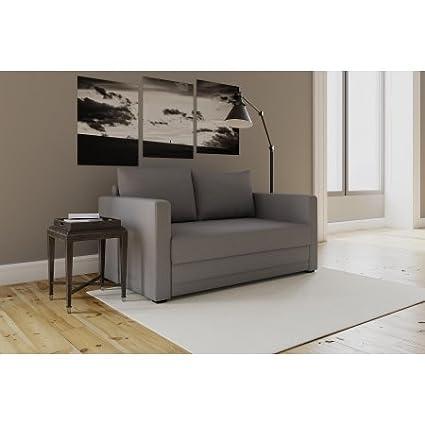 Modern Design Flip Sofa Sleeper Chair, Gray