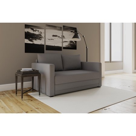 Modern Design Flip Sofa Sleeper Chair, Gray Review