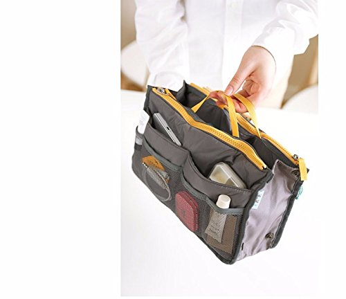 PETRICE Multifunction Makeup Organizer Bag Women Nylon Cosmetic Bag Toiletry Kits Deporte Travel Bags  Colour May Vary