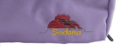 Sedona B-ft Flute Canvas Bag/Case Cover w/Handle, Shoulder Strap & Fleece Lining--Lavender