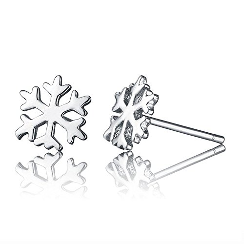 Paialco Sterling Silver Snowflake Earrings product image