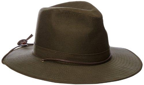 Henschel Men's Aussie Hat, Olive, Small