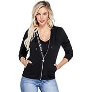 Women's Myrah Active Logo Zip Hoodie