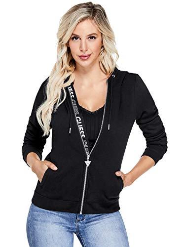 s Myrah Active Logo Zip Hoodie Jet Black ()