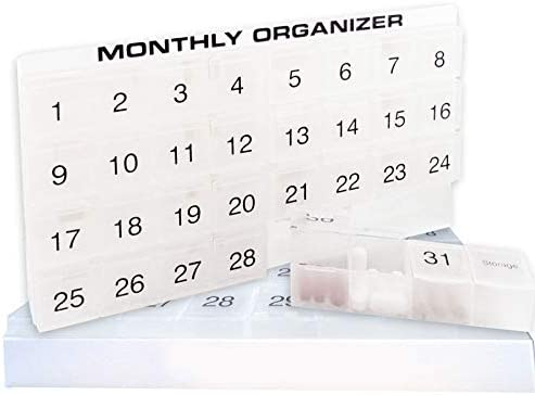 compartments Monthly Organizer Removable compartments product image