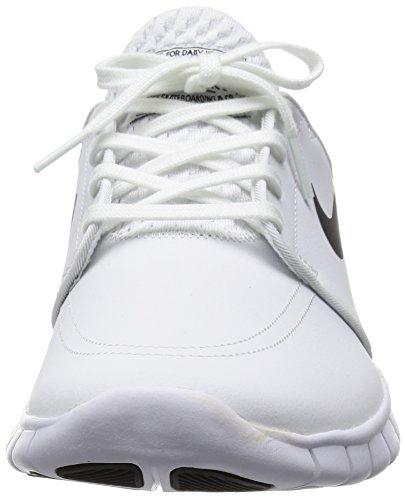 f641d6dac7 Nike Mens Stefan Janoski Max L White/Black Leather Size 8.5 ...
