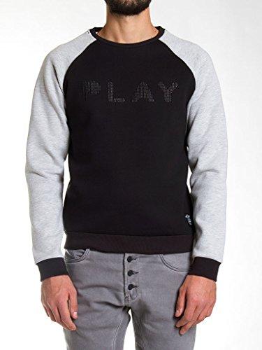 Carrera Jeans - Sweatshirt P805B0081A für mann, mit aufdruck, regular fit, langarm - 899 - Schwarz - M