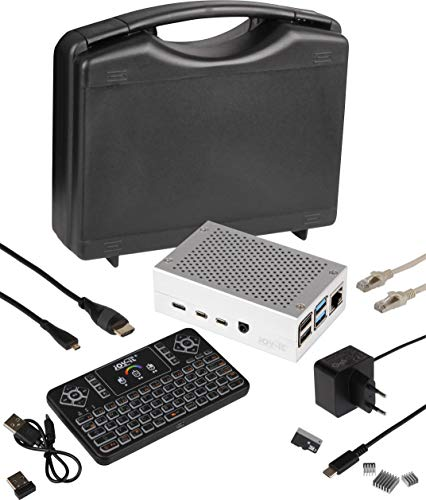 Joy-it Pi-Cast Set incl. Tastatur, incl. case, incl. power supply, incl. Kühlkörper, incl. HDMI