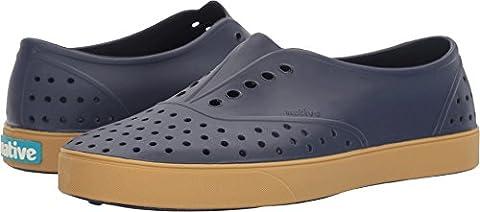 Native Shoes Unisex Miller Regatta Blue/Gum Rubber Loafer (Size 8 Native Shoes)