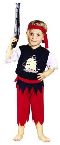 Foxxeo 10204 Kostum Pirat Piratenkostum Seerauber Freibeuter Fur