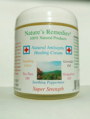 100% Natural Antiseptic Healing Cream (4 ounce) - Natures Antiseptics