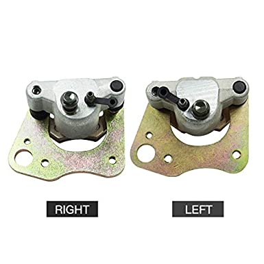 Color : Right Left and Right Motorcycle Front Brake Calipers 1999-2013 JDDRCASE For Polaris Sportsman 330 400 500 570 700 800