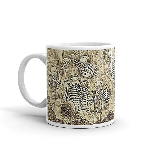 Purgatorio Artistico Day of the Dead poster Mug 11 Oz White -
