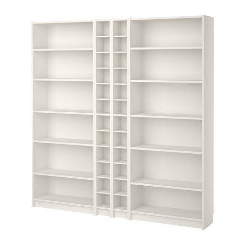 IKEA本棚、ホワイト20202.52326.1426 B01HWGEU0K