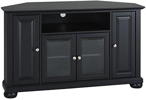 Crosley Furniture Alexandria 48-inch Corner TV Stand - Black ()