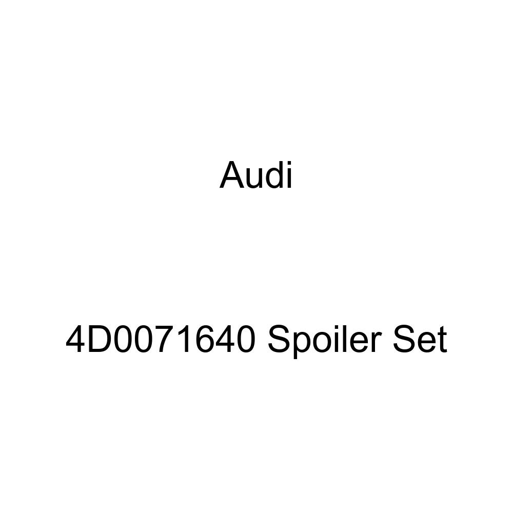 Audi Genuine 4D0071640 Spoiler Set