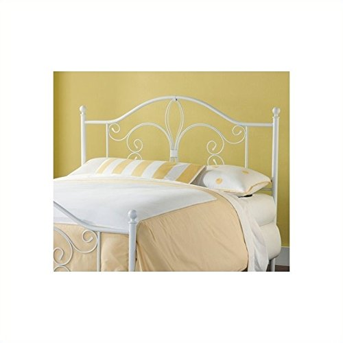 Hillsdale Furniture 1687-340 Hillsdale Ruby Without Bed Frame Twin Headboard, White