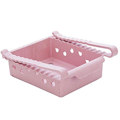 KEMPGW Home Storage, New Kitchen Article Storage Shelf Refrigerator Drawer Shelf Plate Layer Storage Bins Cubes Baskets Shelves Containers Drawers Bags