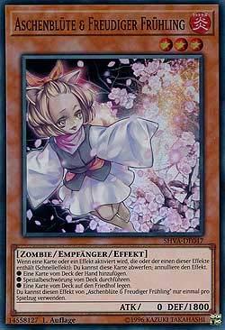 NEU SHVA-DE009 Führung der Göttin Verdande Super Rare YU-GI-OH