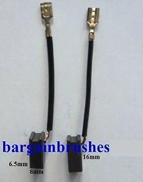 CARBON BRUSHES fit BOSCH GRINDER GWS 7-100 7-125 7-100T GOP 250 CE GWS 7-115 D97