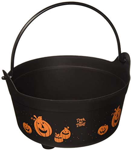 Forum Novelties 67776 CAULDRON-BLACK W/HANDLE Party Supplies, -