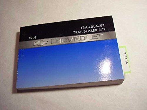 2003 Chevrolet Trailblazer Owners Manual