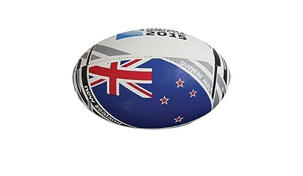 Gilbert New Zealand Rugby World Cup 2015 - Balón de Rugby, diseño ...