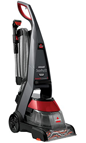BISSELL StainPro 10 Carpet Cleaner 14566, 800W, Titanium/Red