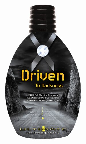 Ultimate Driven To Darkness 100x Bronzers Tanning Lotion 11 oz.