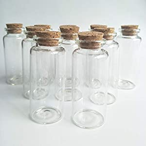 41baNd1CMpL._SS300_ Large & Small Glass Bottles With Cork Toppers