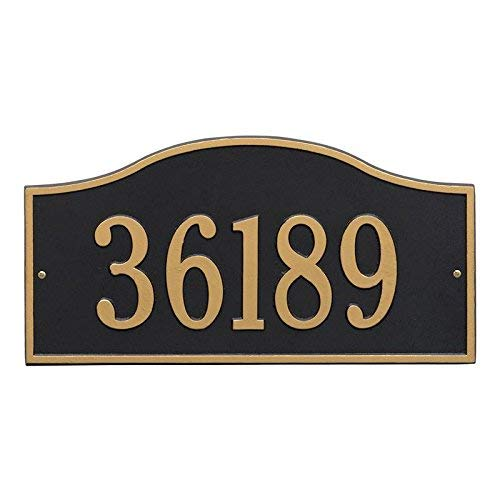 Whitehall Rolling Hills Plaques - Grand Wall - One Line- Black/Gold WHIITEHALL-2 DAYS 1119BG