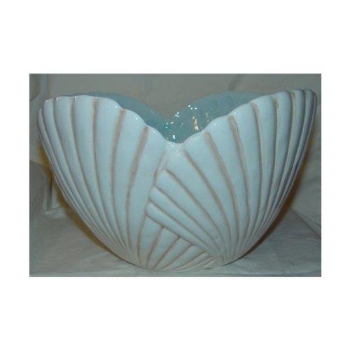 Grasslands Road Sea Breeze Large Shell Serving Bowl