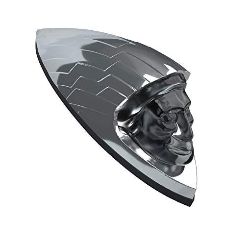 Indian Motorcycle New OEM Chrome Headdress Fender Emblem, 2883668-156