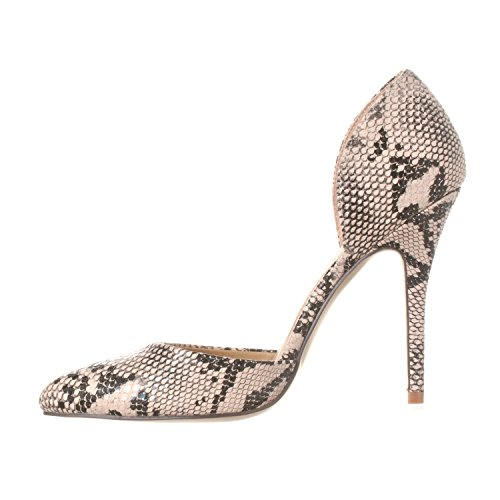 On Pointed Heels Pump Nora D'Orsay Slip Riverberry Python Beige Women's Toe BE00Xq