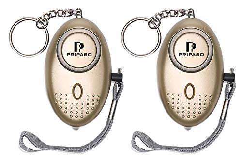 (Personal Alarm Keychain- 130Db Siren Song Personal Security Alarm with Emergency LED Lights, Portable Safety Alarm for Women, Kids, Girls, Self Defense Electronic Device)