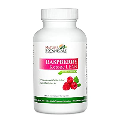 Nature Botanicals Raspberry Ketone LEAN, Weight Loss Supplement 60 Capsules