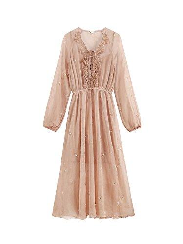 Robe dans Robes Une de Racine M Costume MiGMV Femme de pices srie Couleur Deux d Un de Lotus Harnais 87Bdqw