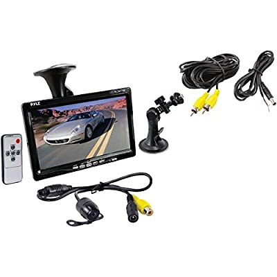 Pyle Vehicle Car Van Jeep Rear View Backup Camera and Monitor Kit from The Rear View Camera Center