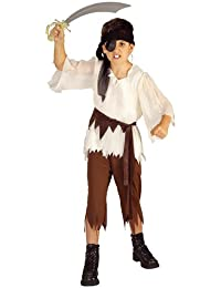 Rubies Costume Haunted House Children's Costumes Pirate Boy - Child's small