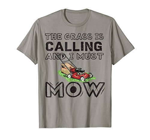Funny Lawn Mowing T-Shirt For Gardening Lovers from Lawn Mowing T-Shirt