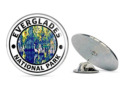 NYC Jewelers Round Everglades National Park (rv Travel Florida Gators) Metal 0.75