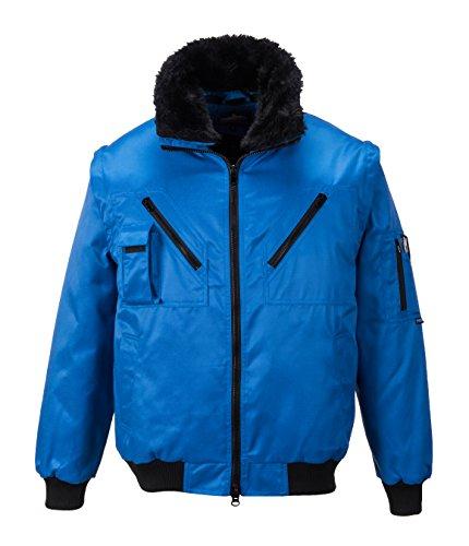 Portwest PJ10 - chaqueta de piloto, color Armada, talla XL Real
