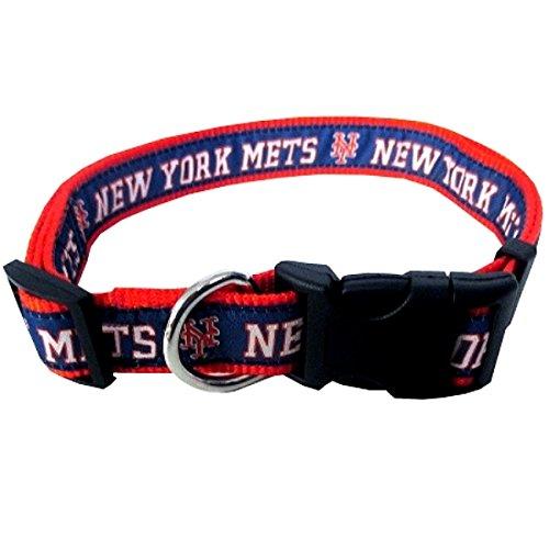 New York Mets Dog Collar - MLB NEW YORK METS Dog Collar, Small