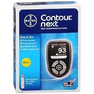 Amazon Com Bayer Contour Next Blood Glucose Monitoring
